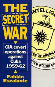Cover of: The secret war