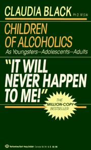 Cover of: 'It Will Never Happen to Me!' Children of Alcoholics