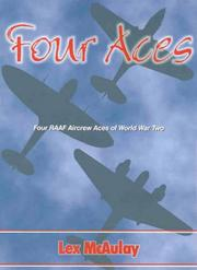 Cover of: Four aces, RAAF fighter pilots | Lex McAulay