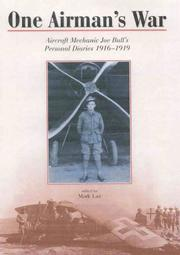 Cover of: One airman's war