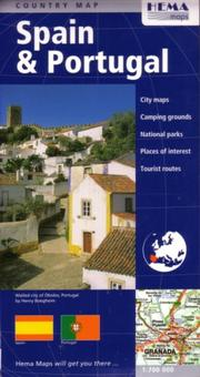Cover of: Spain & Portugal Travel Map by Hema