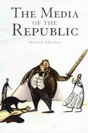 Cover of: The media of the republic