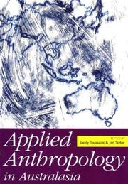 Cover of: Applied anthropology in Australasia |