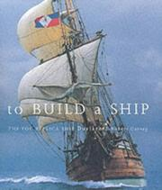 Cover of: To Build a Ship | Robert Garvey