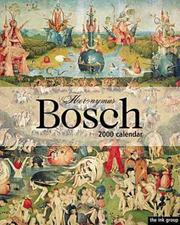 Cover of: Bosch 2000 Calandar