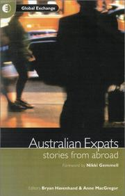 Cover of: Australian Expats | Bryan Havenhand