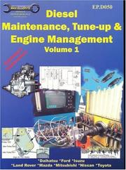 Cover of: Diesel Maintenance, Tune-up and Engine Management, Volume 1-EP.D050 | Max Ellery