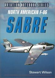 Cover of: North American F-86 Sabre (Aviation Notebook Series)