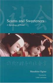 Cover of: Scams and Sweeteners |