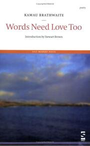 Cover of: Words Need Love Too