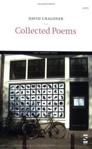 Cover of: Collected Poems | David Chaloner