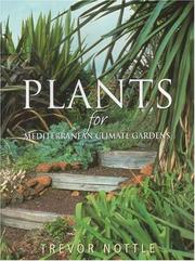 Cover of: Plants for Mediterranean Climate Gardens