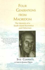 Cover of: Four Generations From Maoridom | Syd Cormack