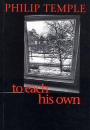 Cover of: To each his own