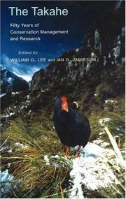 Cover of: The Takahe |