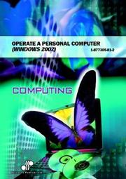 Cover of: Operate a Personal Computer Windows 2002 | Cheryl Price