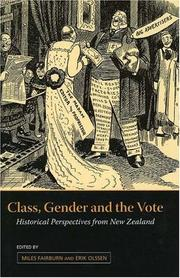 Cover of: Class, Gender And the Vote |