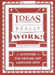 Cover of: Ideas That Really Work