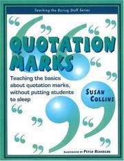 Cover of: Quotation Marks | Susan Collins