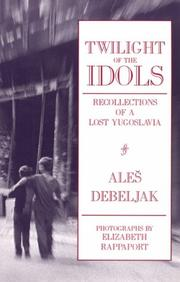 Cover of: Twilight of the idols