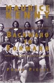Cover of: Backward to Forward | Maurice Kenny