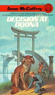 Cover of: Decision at Doona | Anne McCaffrey