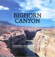 Cover of: Bighorn Canyon National Recreation Area
