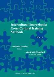 Cover of: Intercultural sourcebook |