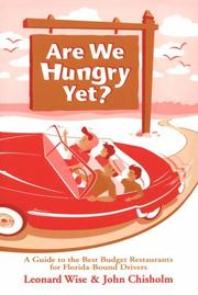 Cover of: Are we hungry yet?