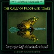 Cover of: The Calls of Frogs and Toads