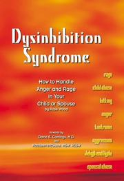 Cover of: Dysinhibition syndrome