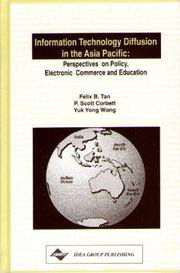 Cover of: Information Technology Diffusion in the Asia Pacific |
