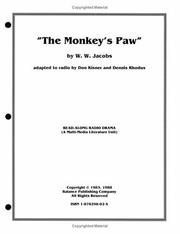 Cover of: The Monkey's Paw/Multi-Media Kit (A Read-Along Radio Drama)