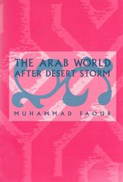 Cover of: The Arab world after Desert Storm