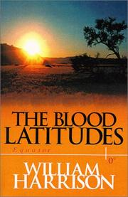 Cover of: The blood latitudes