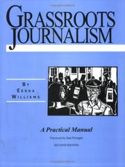 Cover of: Grassroots Journalism | Eesha Williams