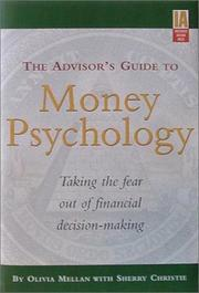 Cover of: The Advisor's Guide to Money Psychology