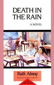 Cover of: Death in the rain | Ruth Almog