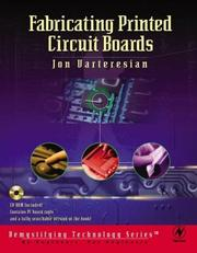 Cover of: Fabricating Printed Circuit Boards (Demystifying Technology) | Jon Varteresian