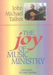 Cover of: The joy of music ministry