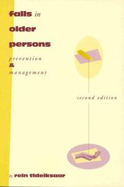 Cover of: Falls in older persons