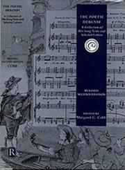 Cover of: The Poetic Debussy