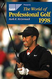 Cover of: The World of Professional Golf 1998 (World of Professional Golf)