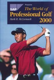 Cover of: The World Of Professional Golf (World of Professional Golf)