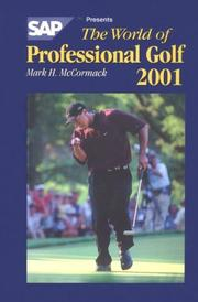 Cover of: The World Of Professional Golf Sap (World of Professional Golf)