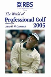 Cover of: The World of Professional Golf 2005 (World of Professional Golf)