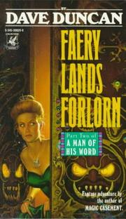 Cover of: Faery Lands Forlorn: Part Two of A Man of His Word