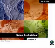 Cover of: Using ArcCatalog | Aleta Vienneau
