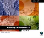 Cover of: Building A Geodatabase