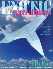Cover of: Exotic paper airplanes